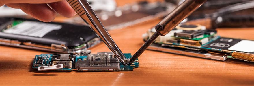 Magasin spécialisé dans la réparation de téléphones
