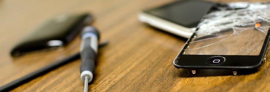 changer l'écran cassé d'un iPhone 5